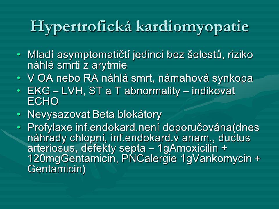Hypertrofická kardiomyopatie