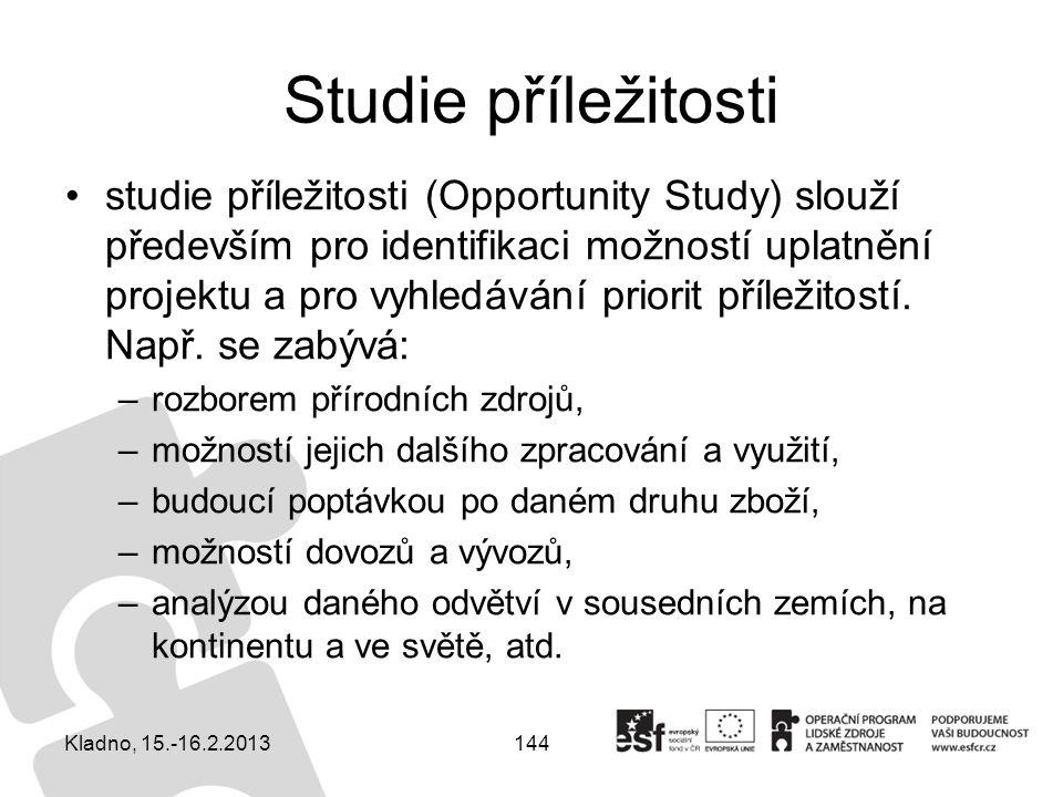 Studie příležitosti