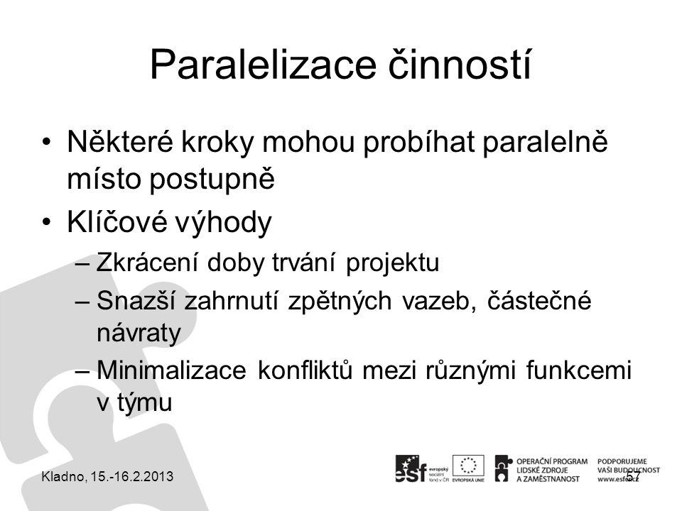 Paralelizace činností