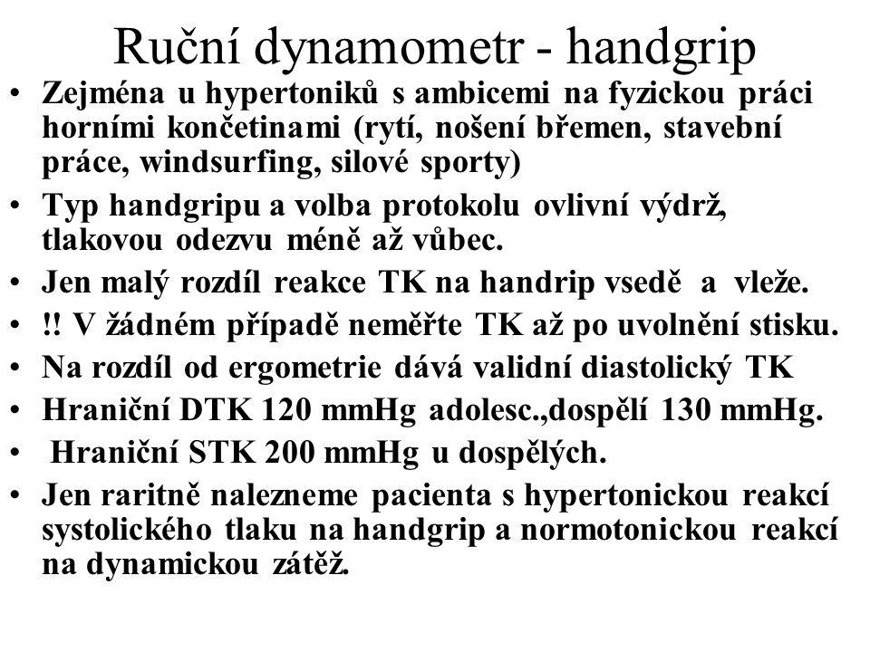 Ruční dynamometr - handgrip