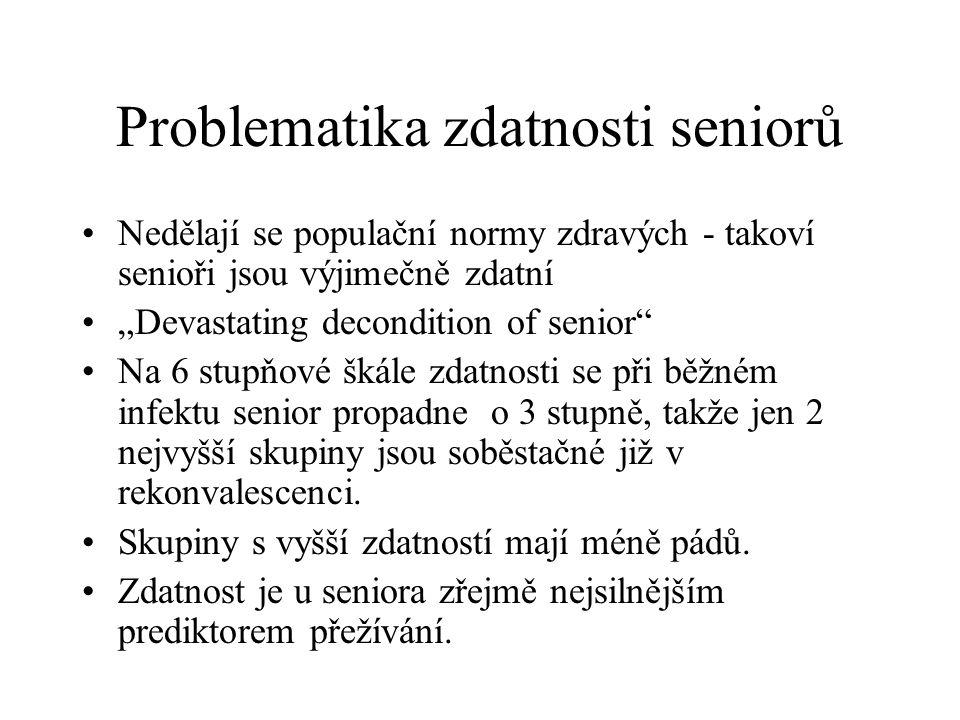 Problematika zdatnosti seniorů