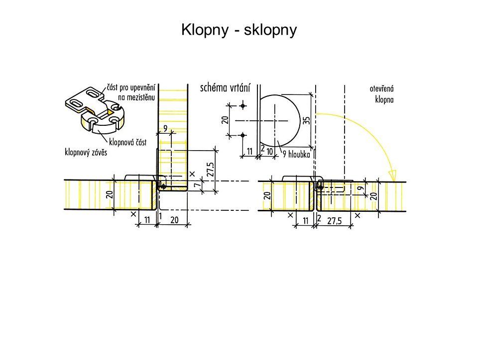 Klopny - sklopny