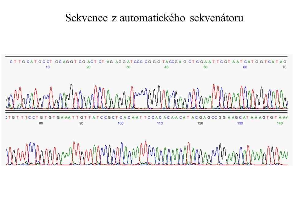 Sekvence z automatického sekvenátoru
