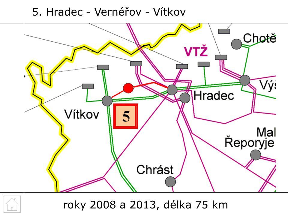5. Hradec - Vernéřov - Vítkov