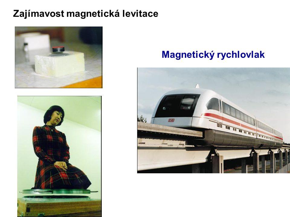 Zajímavost magnetická levitace