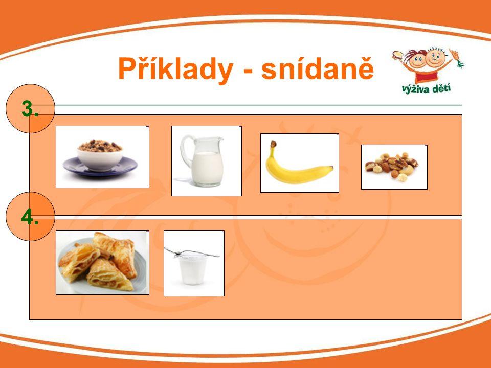 Příklady - snídaně 3. 4.