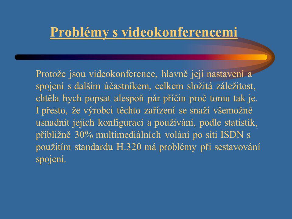 Problémy s videokonferencemi
