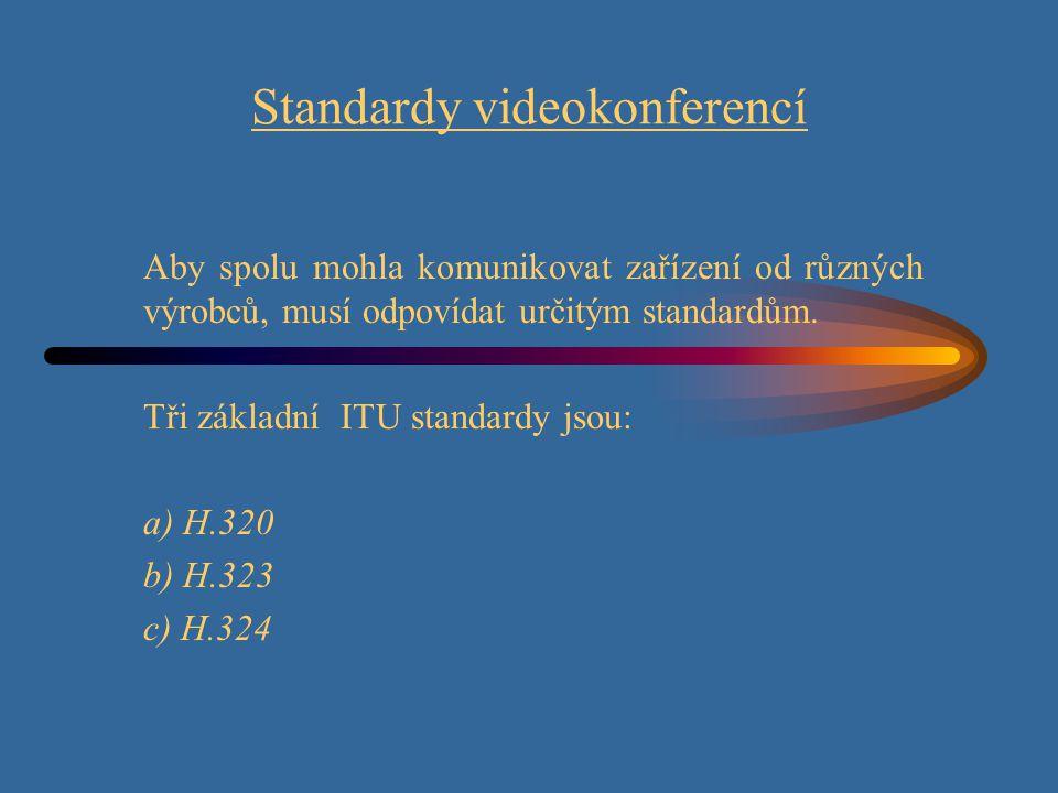 Standardy videokonferencí