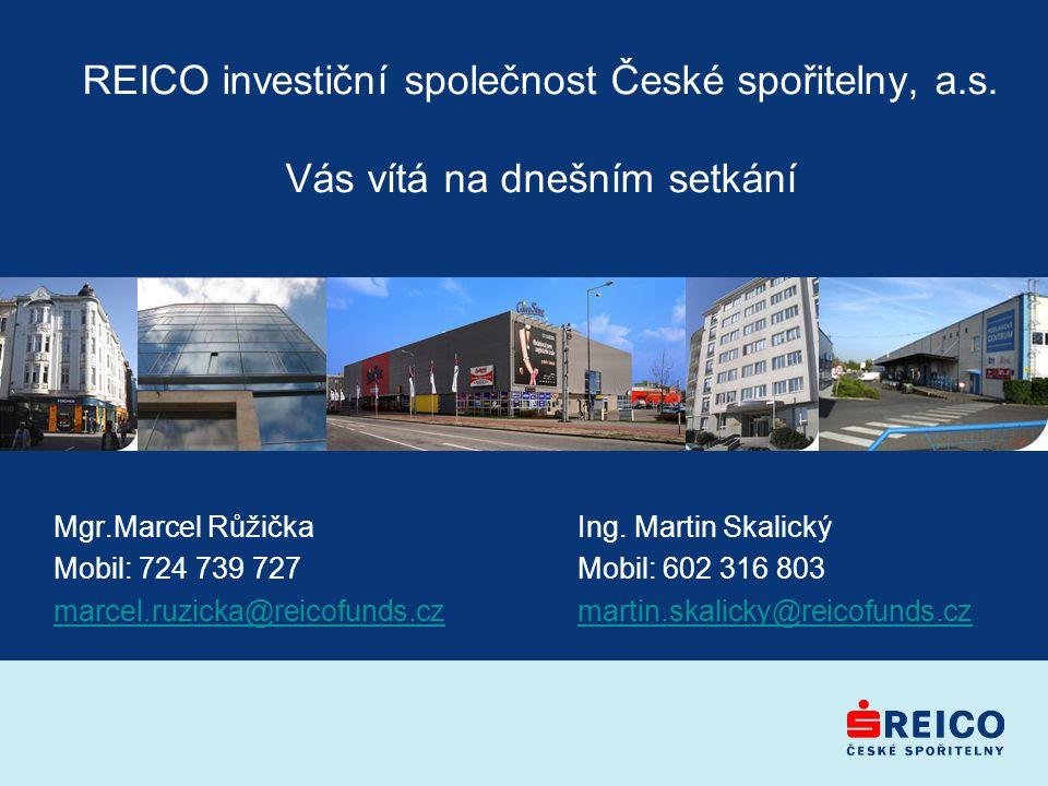 REICO investiční společnost České spořitelny, a. s