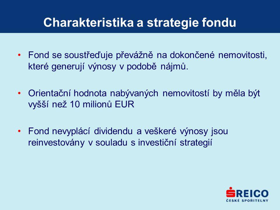 Charakteristika a strategie fondu