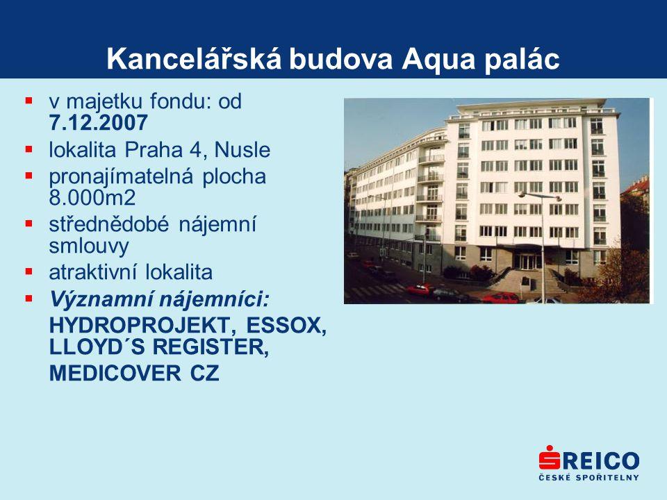 Kancelářská budova Aqua palác