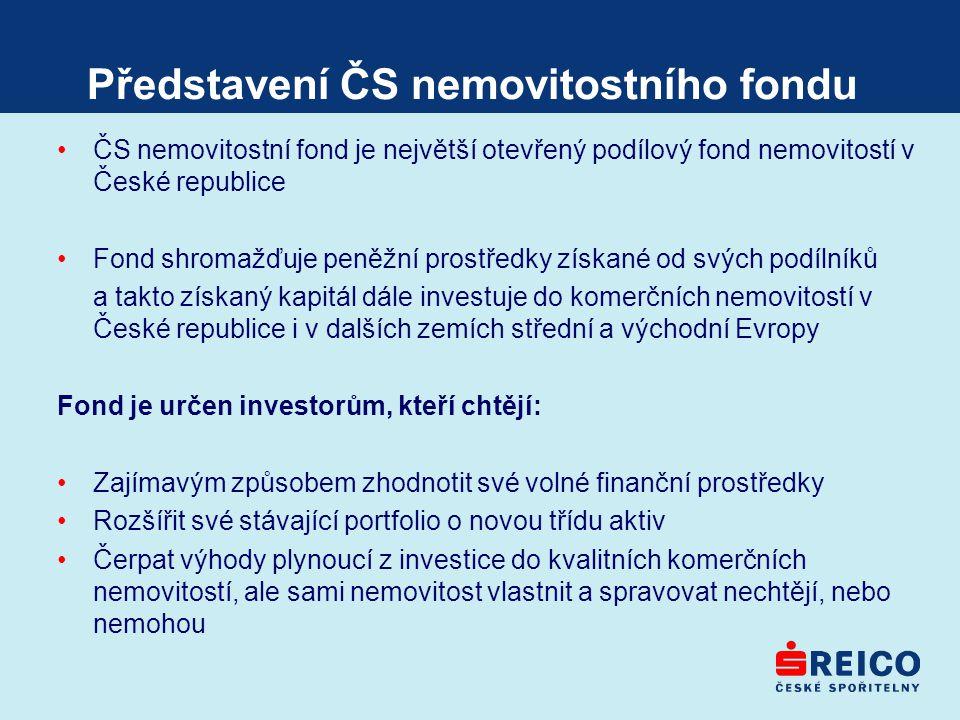 Představení ČS nemovitostního fondu