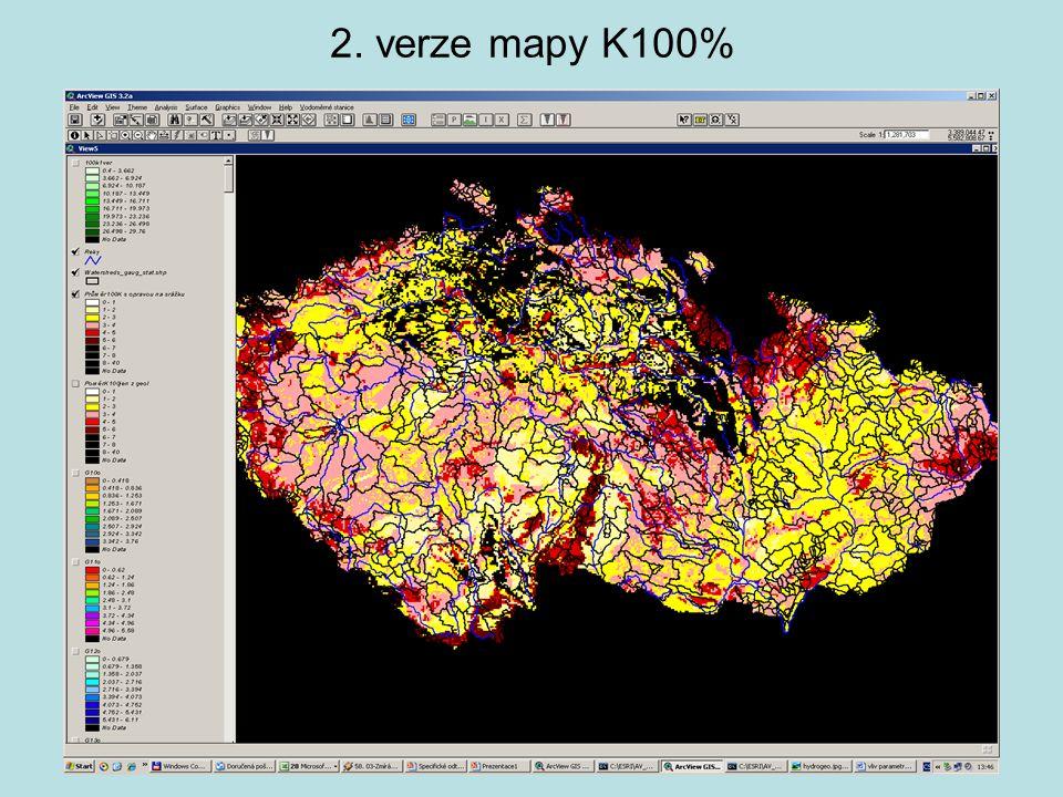 2. verze mapy K100%