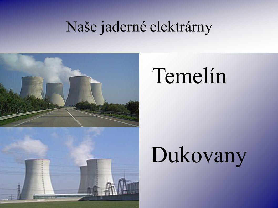 Naše jaderné elektrárny