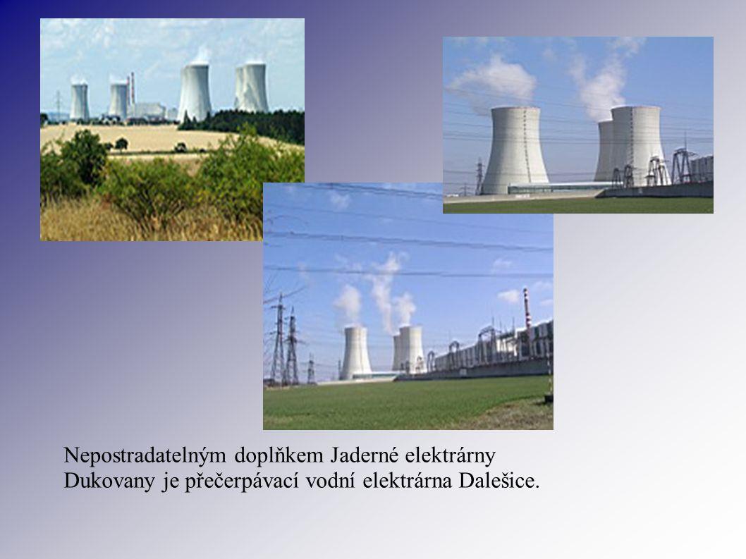 Nepostradatelným doplňkem Jaderné elektrárny