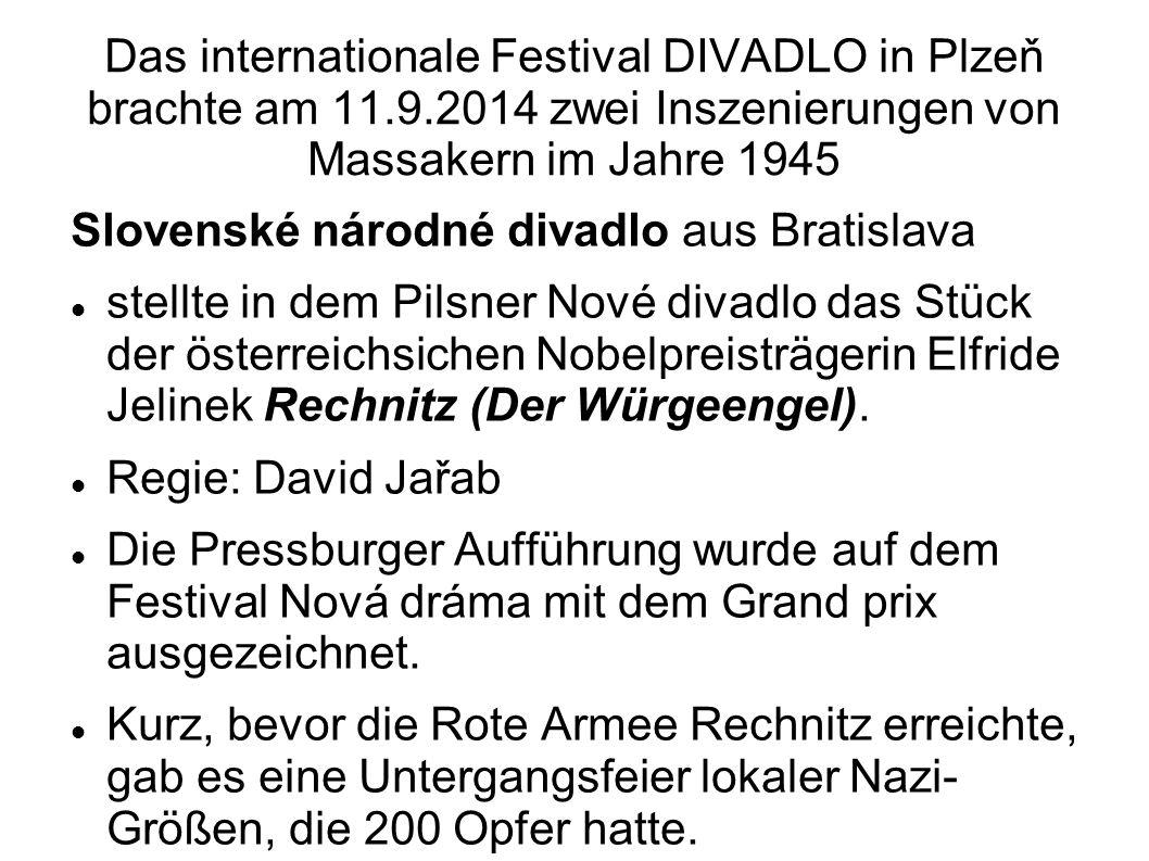 Das internationale Festival DIVADLO in Plzeň brachte am 11. 9