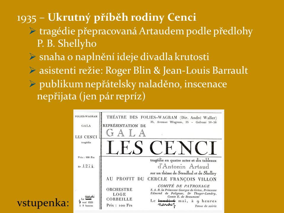 1935 – Ukrutný příběh rodiny Cenci