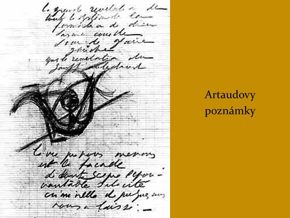Artaudovy poznámky
