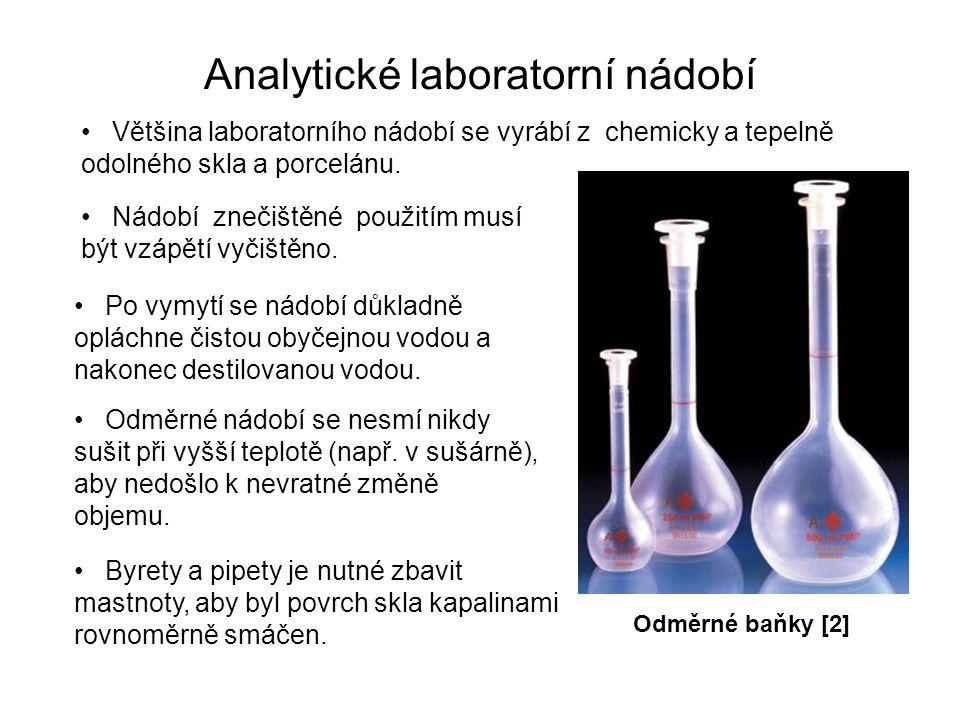 Analytické laboratorní nádobí