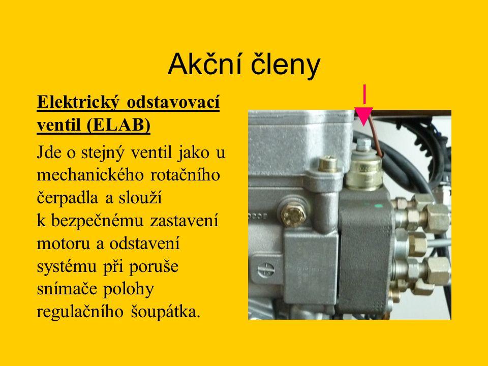 Akční členy ◄─ Elektrický odstavovací ventil (ELAB)
