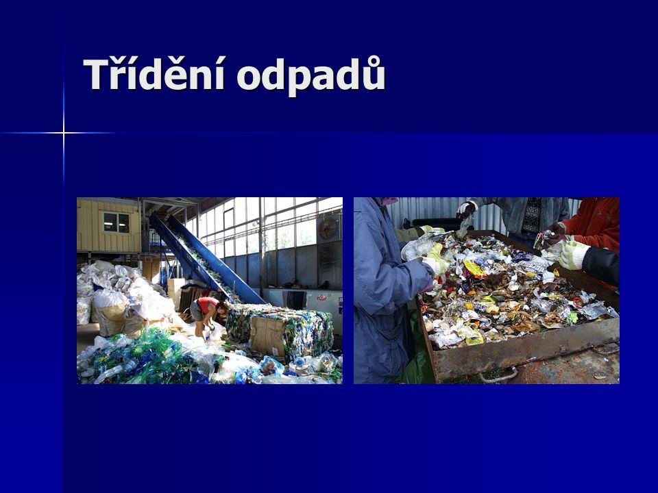 Třídění odpadů
