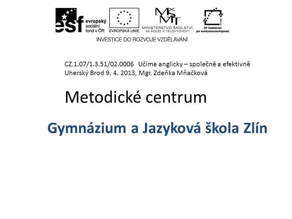 Gymnázium a Jazyková škola Zlín