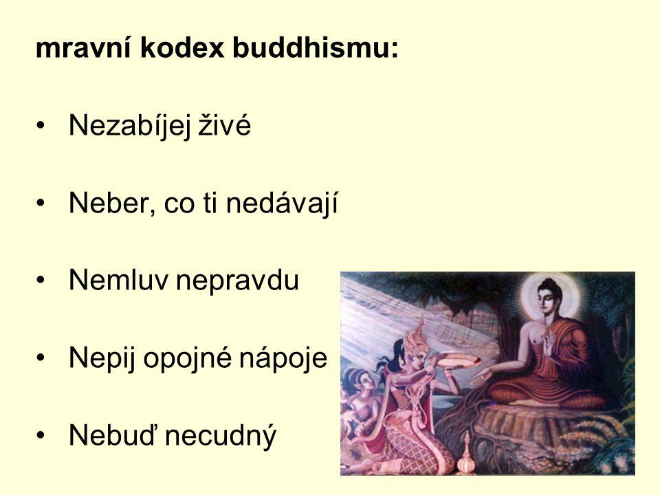 mravní kodex buddhismu: