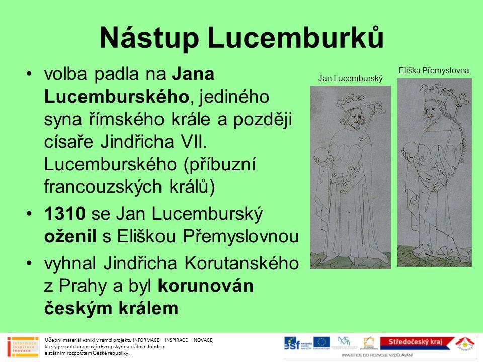 Nástup Lucemburků