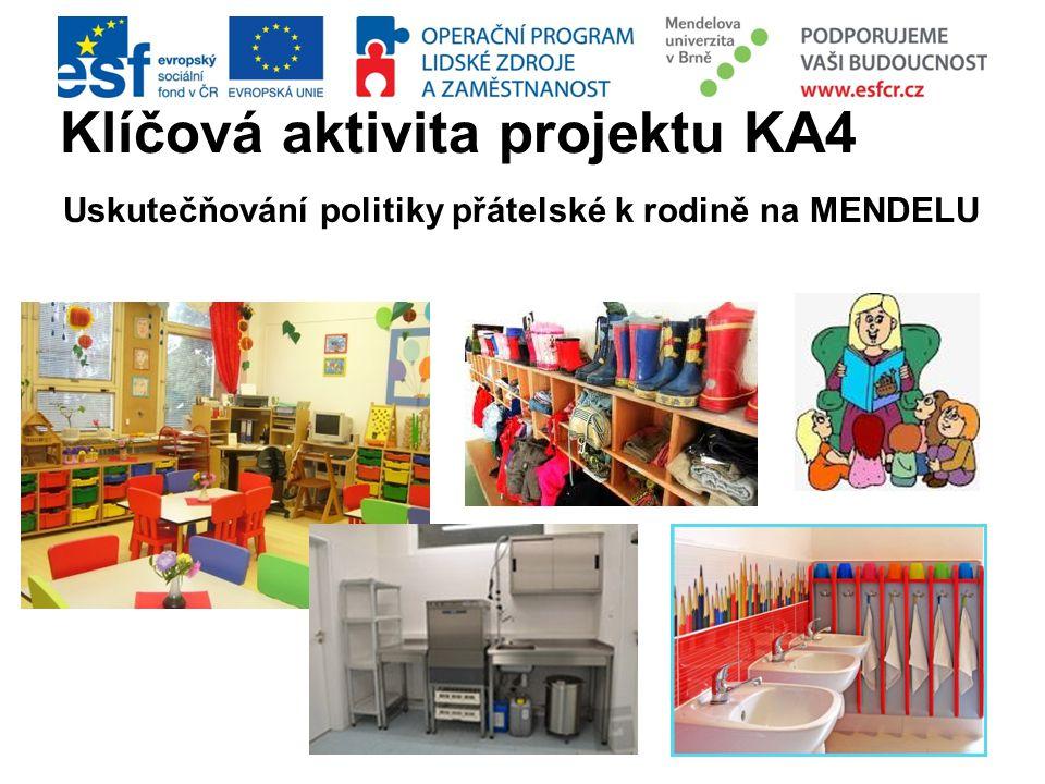Klíčová aktivita projektu KA4