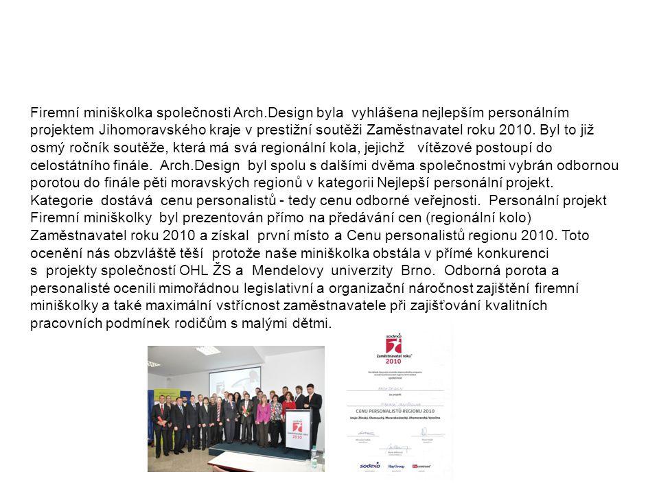 Zaměstnavatel roku 2010