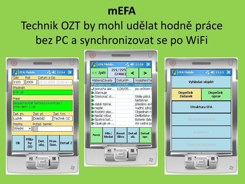 mEFA Technik OZT by mohl udělat hodně práce bez PC a synchronizovat se po WiFi