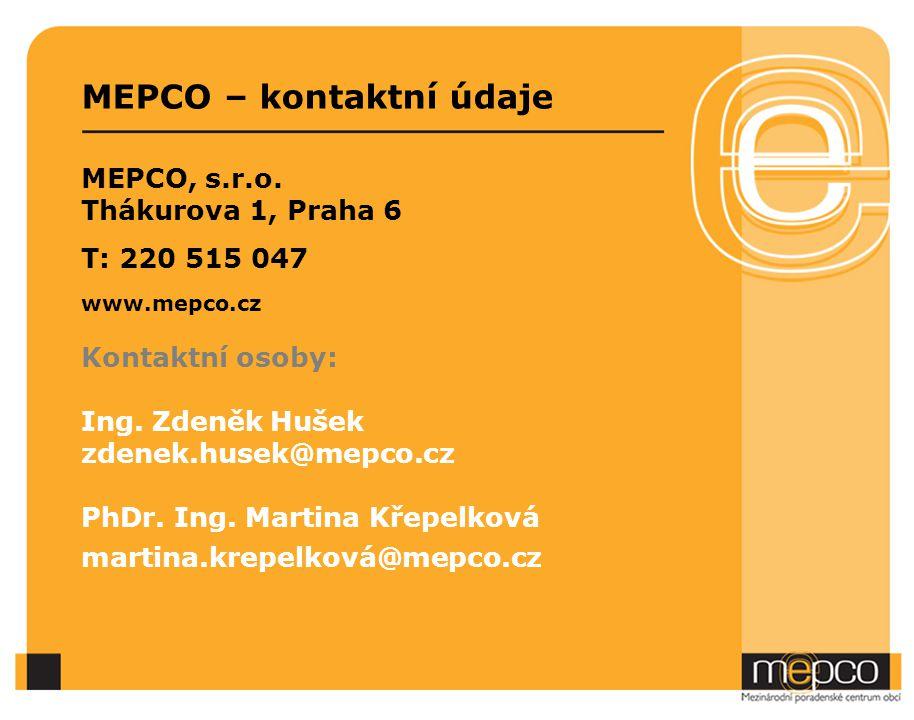 MEPCO – kontaktní údaje