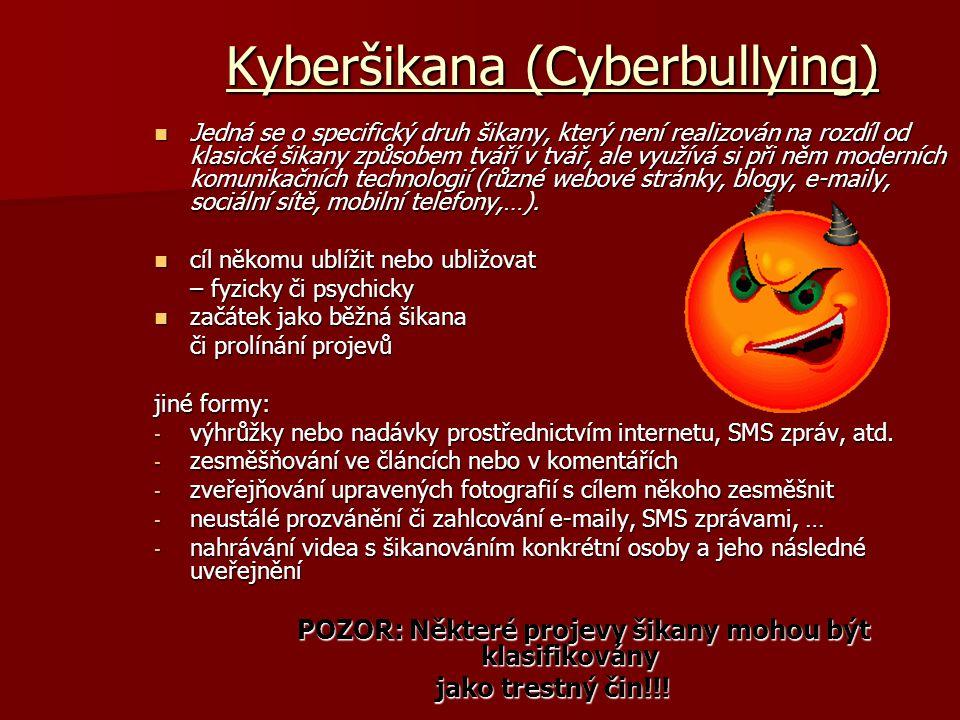 Kyberšikana (Cyberbullying)