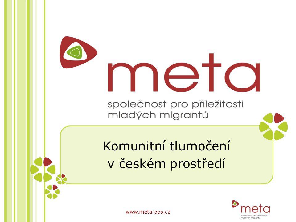 Komunitní tlumočení v českém prostředí