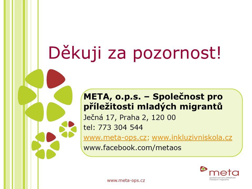META, o.p.s. – Společnost pro příležitosti mladých migrantů