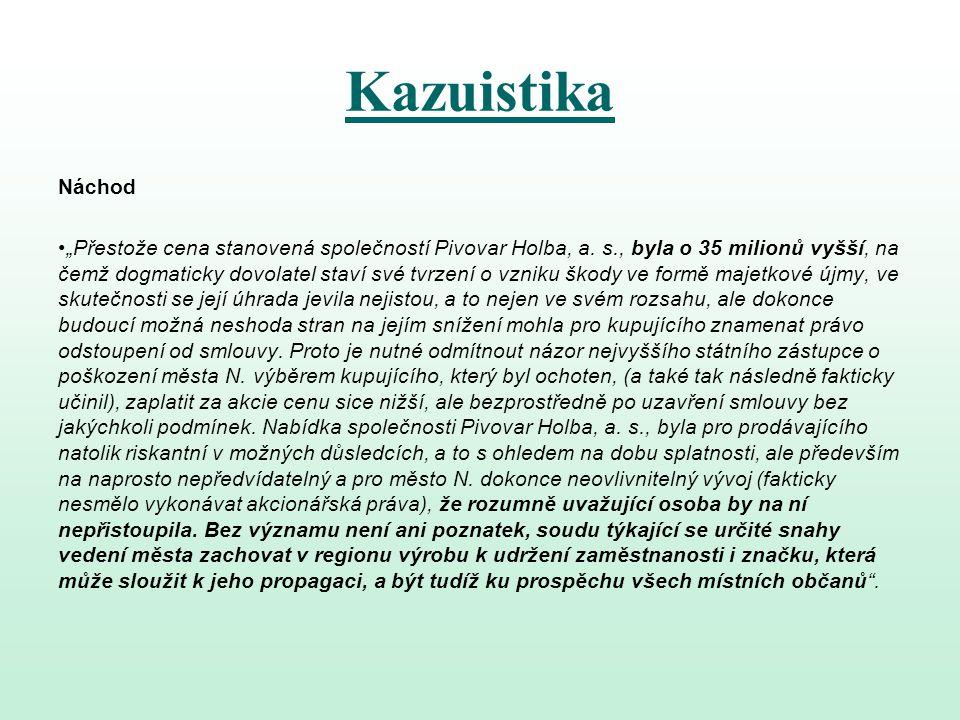 Kazuistika Náchod.