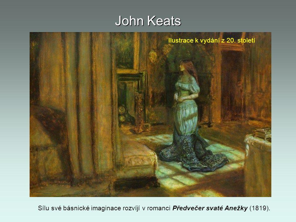 John Keats Ilustrace k vydání z 20. století