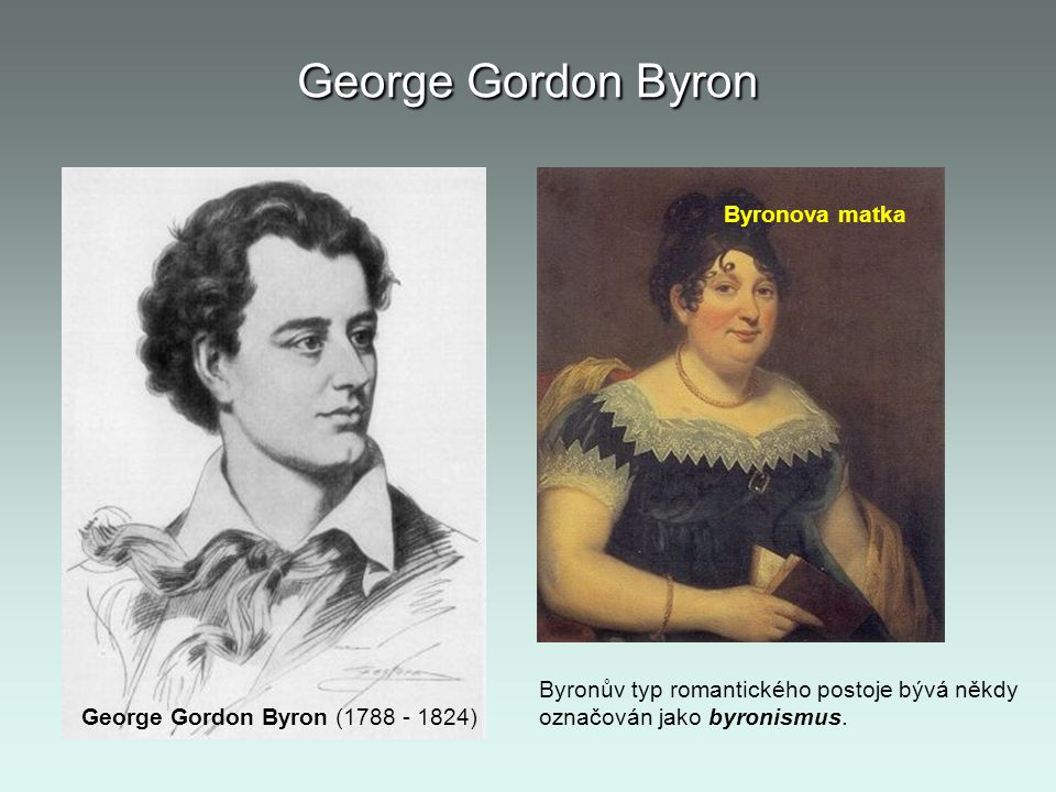 George Gordon Byron Byronova matka
