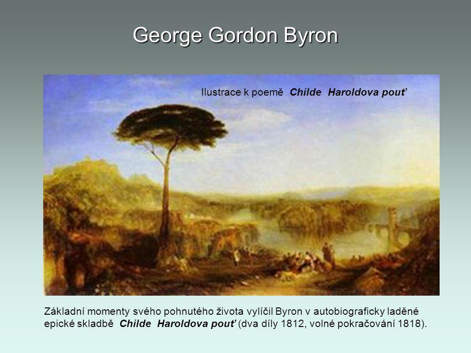 George Gordon Byron Ilustrace k poemě Childe Haroldova pouť