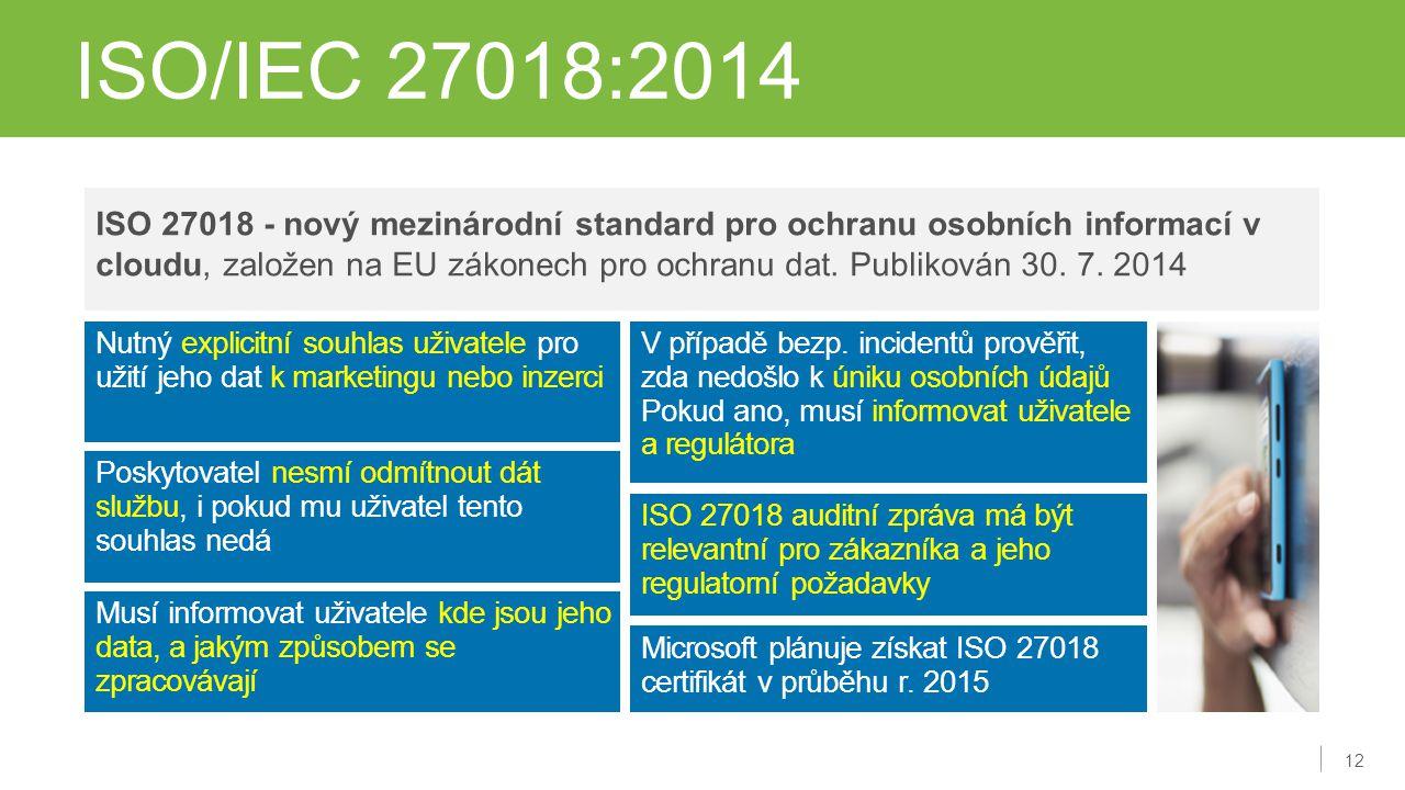 ISO/IEC 27018:2014