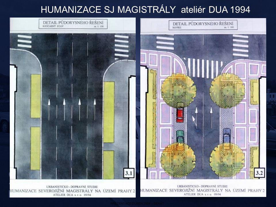 HUMANIZACE SJ MAGISTRÁLY ateliér DUA 1994