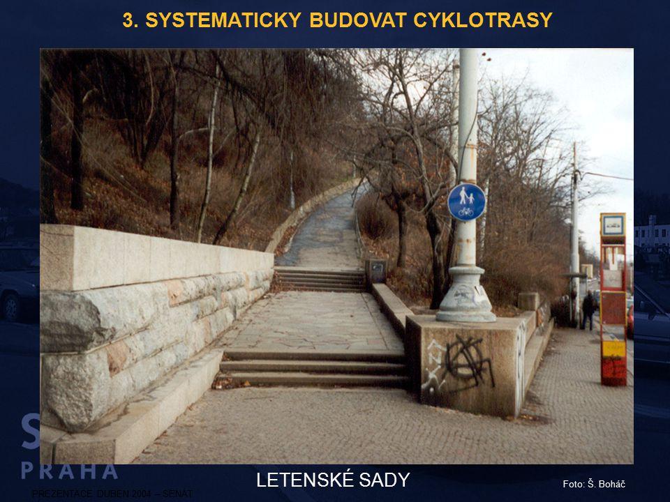 3. SYSTEMATICKY BUDOVAT CYKLOTRASY