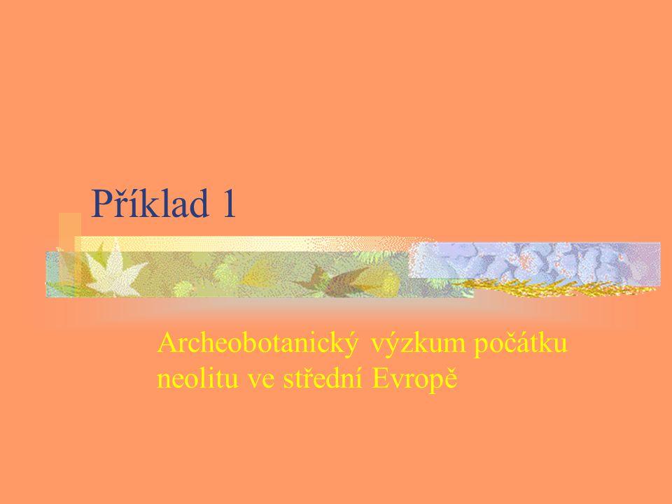 Archeobotanický výzkum počátku neolitu ve střední Evropě