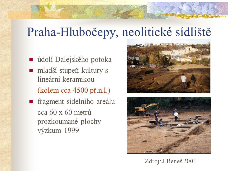 Praha-Hlubočepy, neolitické sídliště