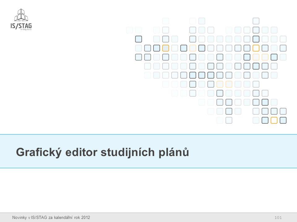 Grafický editor studijních plánů
