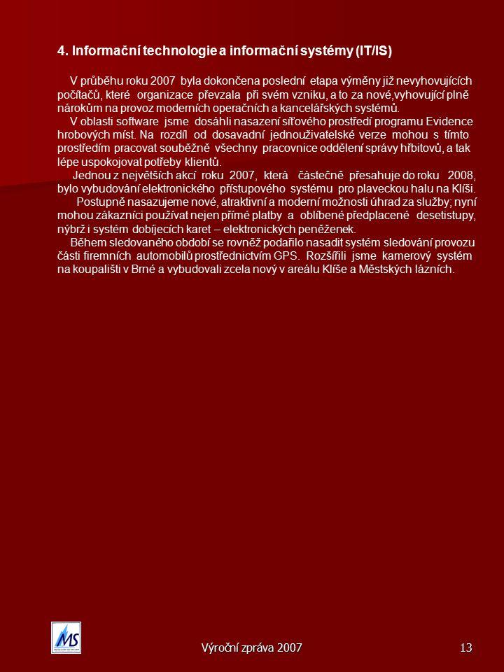 4. Informační technologie a informační systémy (IT/IS)