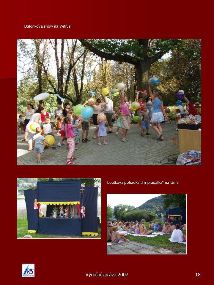 Balónková show na Větruši
