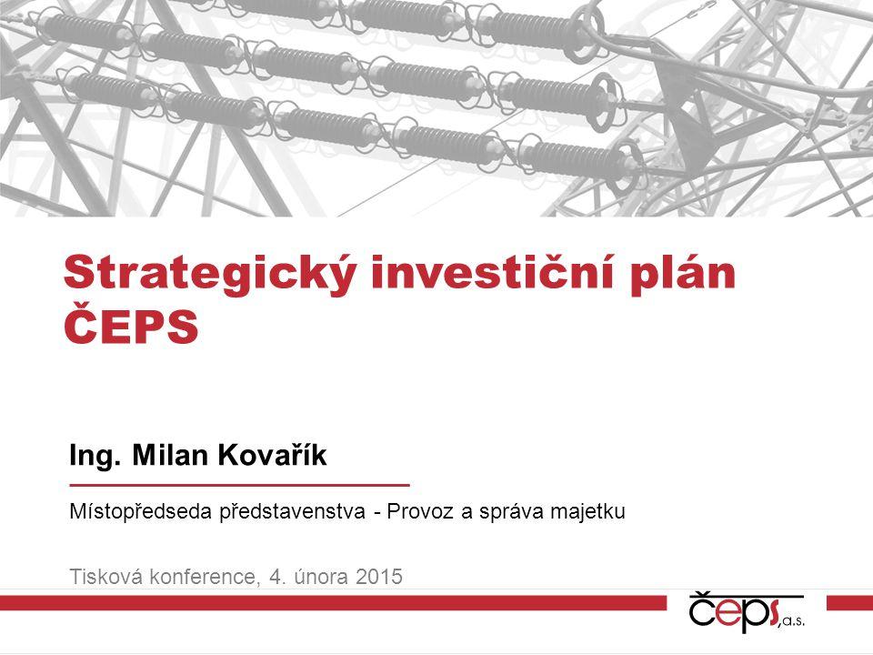 Strategický investiční plán ČEPS