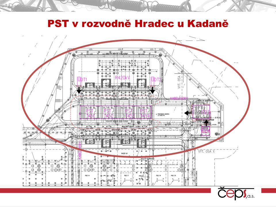 PST v rozvodně Hradec u Kadaně