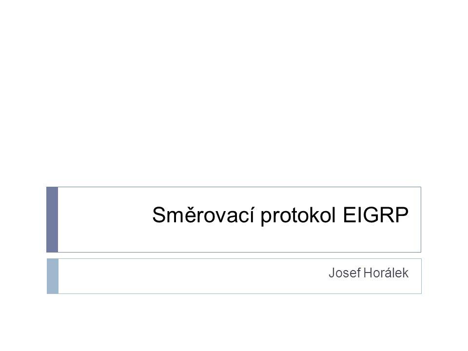 Směrovací protokol EIGRP